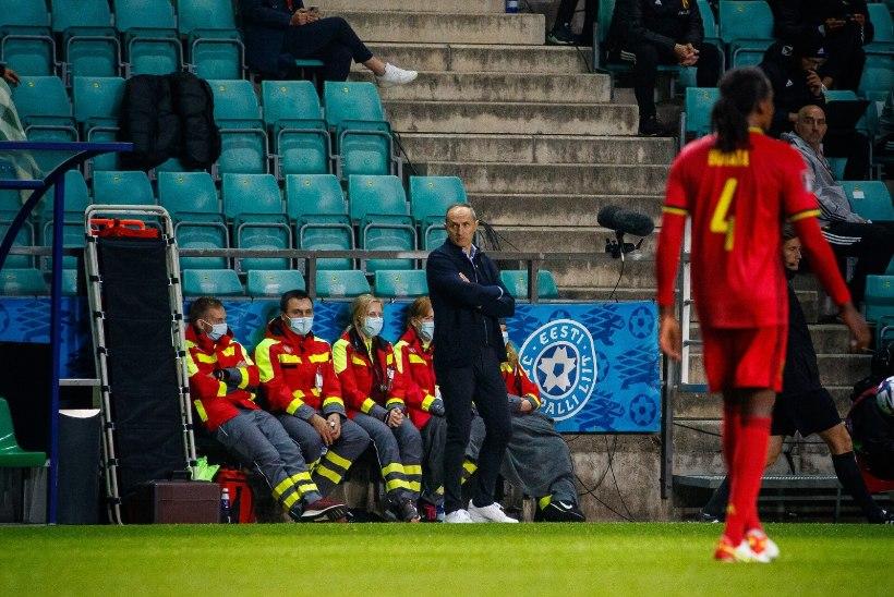 Eesti koondise peatreener Bale'i peatamisest: peame mängima oma mängu, mitte keskenduma ühele mehele