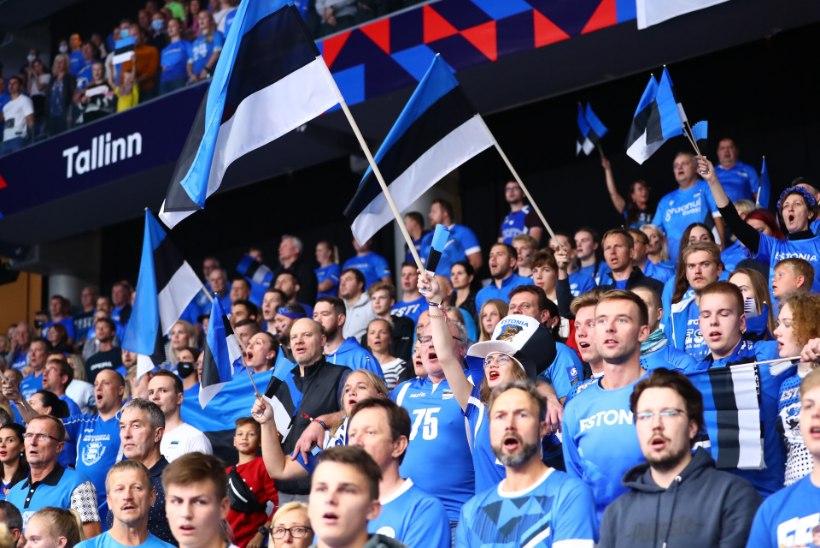 Eesti publik ei vedanud meie koondist vajalikule võidule