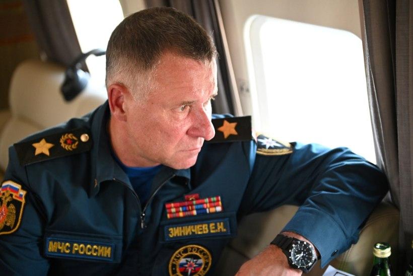 TRAAGILINE KUKKUMINE: Siberis hukkus Venemaa eriolukordade minister