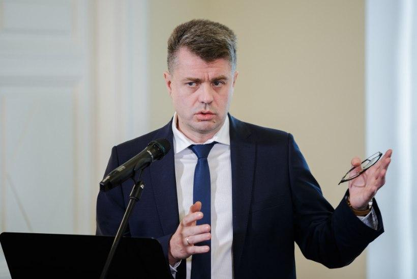 Urmas Reinsalu: politseil on pidevalt asja Eha Võrgu kabinetti, linnavalitsus on Tallinna korruptsioonikese