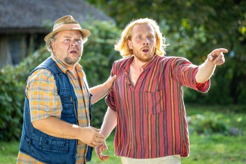 """GALERII   Mängufilmi """"Suvitajad"""" viimane võttepäev: jaanilõkke ääres süttib kirglik draama!"""