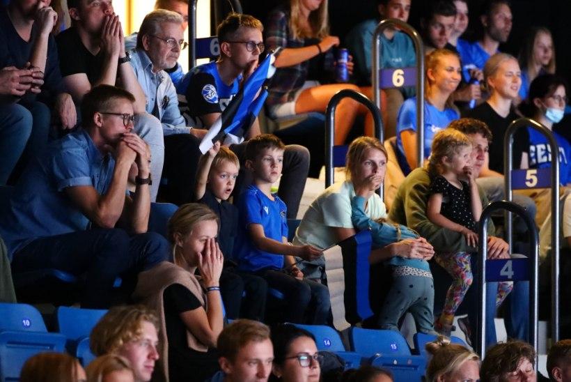 KAHJU! Kodune volle-EM lõppes Eesti jaoks alagrupiturniiriga. Kollo: loodan, et ühel hetkel hakkab publik saama meilt sama, mida nemad meile pakuvad