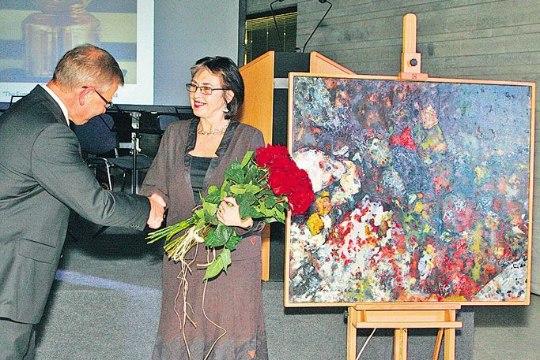 Sõbrad kinkisid Kumule väärtusliku maali