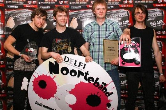 """Noortebänd 2010 võitja X-Panda: """"See ei ole kohale jõudnud meile!"""""""
