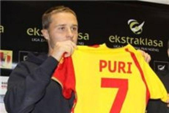 Sander Puri debüüt Poola liigas lõppes viigiga