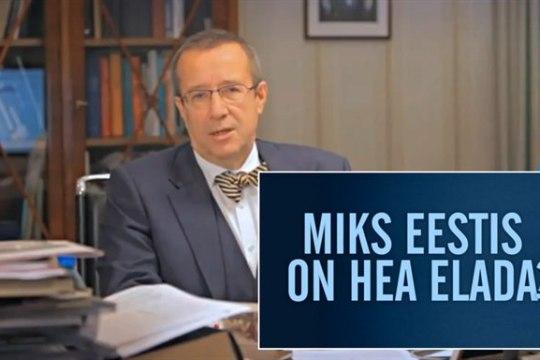 President loodab leida uue kampaaniaga 100 Eesti eelist
