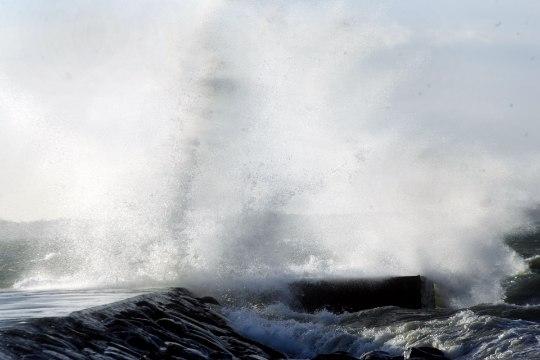 Tugev tuul sundis kruiisilaeva Tallinna sadamasse naasma