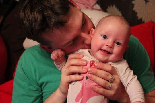 Malluka beebiblogi: isa kiri tütrele