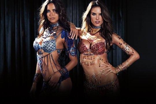 Vaata vaid! Sellised näevad välja Victoria's Secret'i 2 miljoni dollarilised rinnahoidjad!