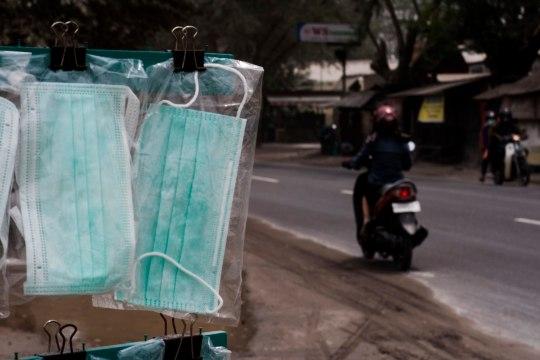 Indoneesia blogi: taevas on vulkaanipurskest hall