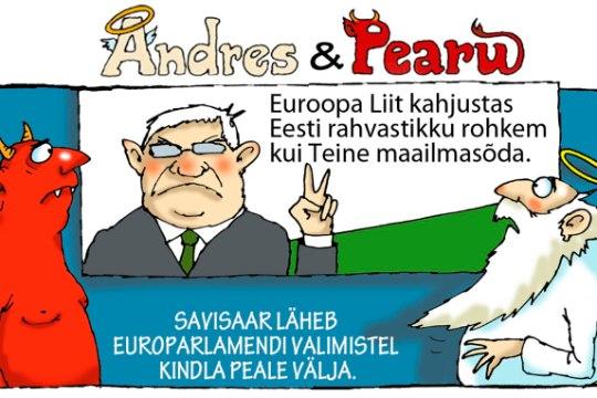 Andres ja Pearu: valimistel kindel võit!