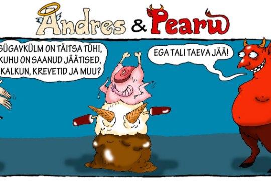 Andres ja Pearu: kus on korralik kodumaine suusailm?