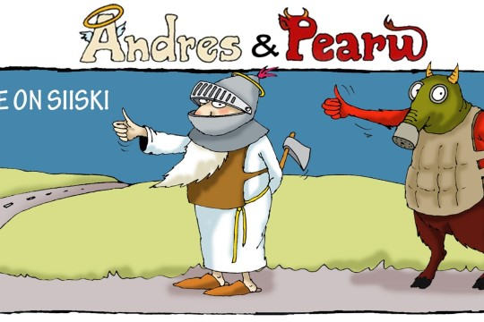 Andres ja Pearu: hääletamine on siiski turvaline!