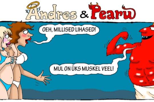Andres ja Pearu: see kõige suurem muskel...