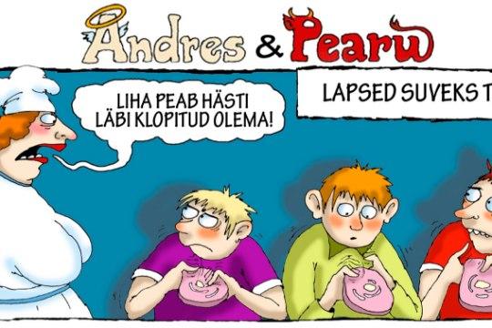 Andres ja Pearu: suvi on aeg, kus lapsed saavad taskuraha teenida