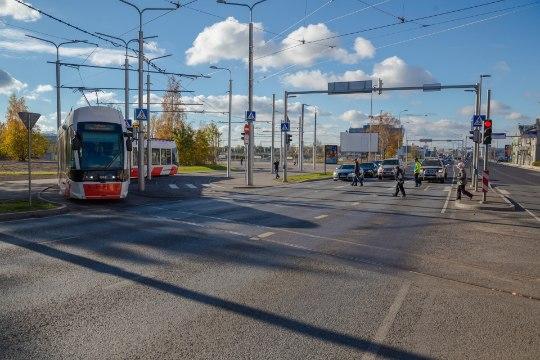 GALERII | Ehitustööd 3. ja 4. trammiliinil on lõpetatud