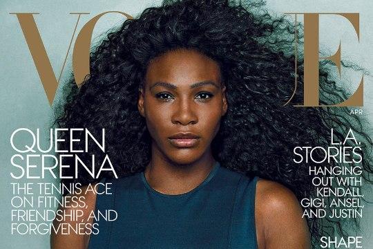 PILTUUDIS: Vogue pani Serena Williamsi taas esikaanele