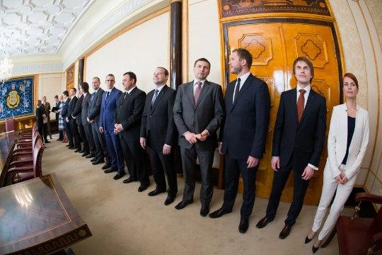 FOTOD: vaata, kes moodustavad Taavi Rõivase uue valitsuse!