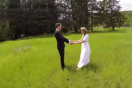 JÄÄDVUSTAMATA HETK: droon vedas alt ja rikkus koguni pulmad?!