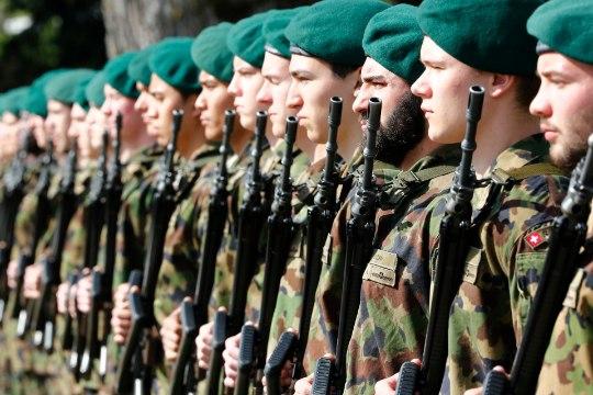 Šveitsi armee valmistub Euroopa Liidu lagunemiseks