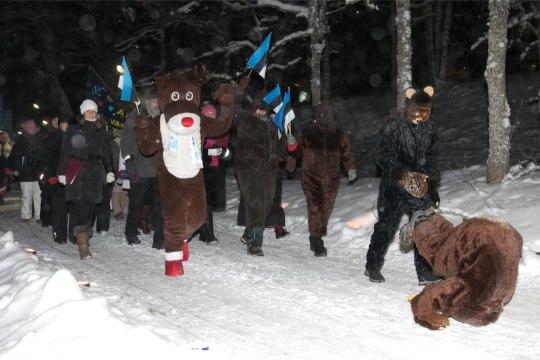 GALERII | Otepääl peeti Eesti IV talveöölaulupidu