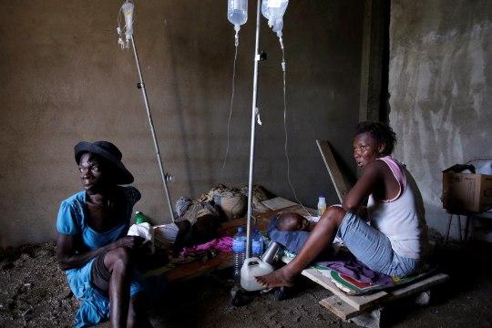 Haitil peljatakse koolerapuhangut