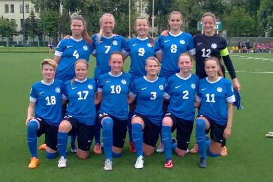 JÄRELEVAADATAV | Eesti naiste U19 jalgpallikoondis EM-valikmängus Šveitsile vastu ei saanud
