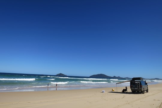 Laintesse hullama! Austraalia-seiklus jõuab täna ookeani äärde