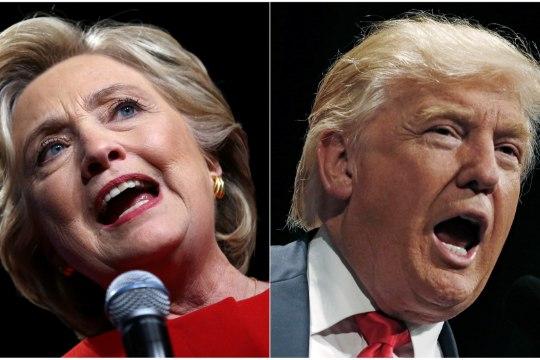 Hillary Clinton? Donald Trump? Ameeriklased valivad uut presidenti