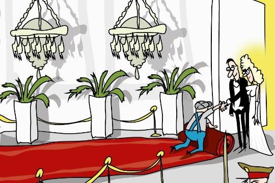 Karikatuur   Rahva pidu