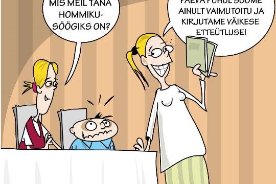 Karikatuur | Meie kallis emakeel