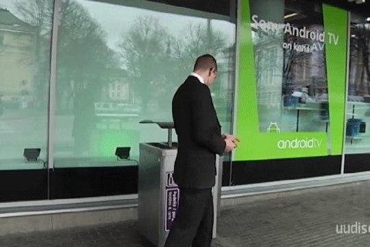 TV3 VIDEO   Reporter Katrin Lustil ei lubatud Solarise keskuse ees filmida. See luba on vaid ERR-il ja TTV-l