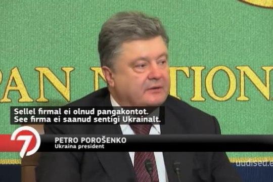 TV3 VIDEO | Ukraina president eitab maksudest kõrvalehiilimist