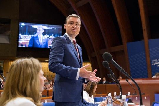 Rõivas ELi parlamentide esindajatele: rahvusvaheline õigus ja inimõigused vajavad kaitset enam kui kunagi varem
