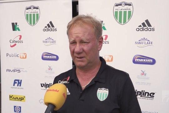 ÕHTULEHE VIDEO | Sergei Ratnikov enne euromängu: mind rahuldab minimaalselt 3:0 võit