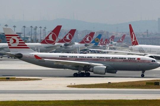 Turkish Airlines tühistas Tallinna-Istanbuli lennu
