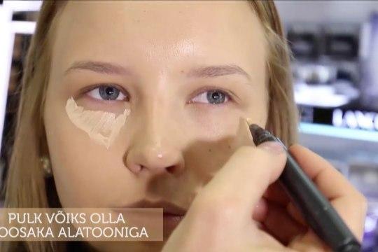 ILUKOOL   Kuidas peita tumedaid silmaaluseid?