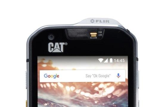 CAT valmistas maailma esimese sisseehitatud soojuskaameraga nutitelefoni