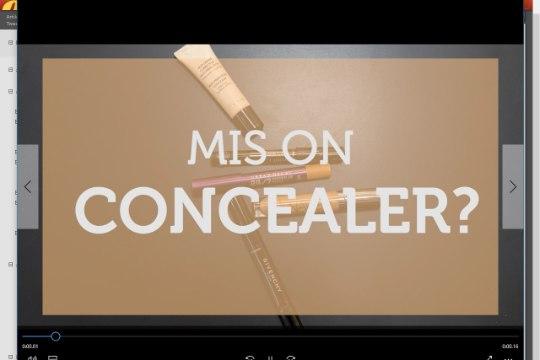 ILUKOOL | Mis asi on concealer ja kuidas seda kasutatakse?