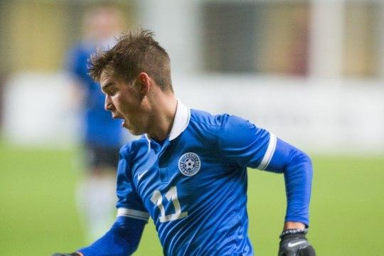 JÄRELEVAADATAV | Eesti U23 jalgpallikoondis viigistas väravaterohkes mängus Ukrainaga