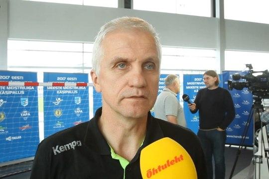 ÕHTULEHE VIDEO | Viimsi käsipallimeeskond soovib kõva kaitse toel medalit võita