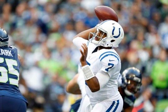 GALERII | Hunt ja Colts said Seahawksilt kehva teise poolaja tõttu keretäie