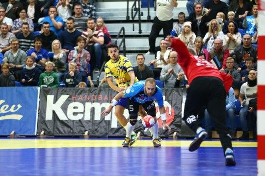 Käsipallikoondise väravalukk Rasmus Ots tegi elu parima mängu