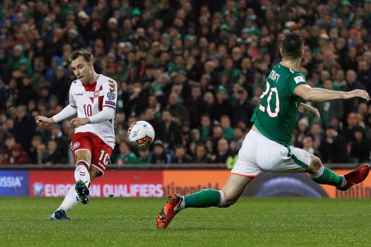 Staari kübaratrikk viis Taani jalgpalli MMile