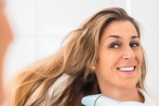 Aeglane kuivamine kahjustab juukseid!