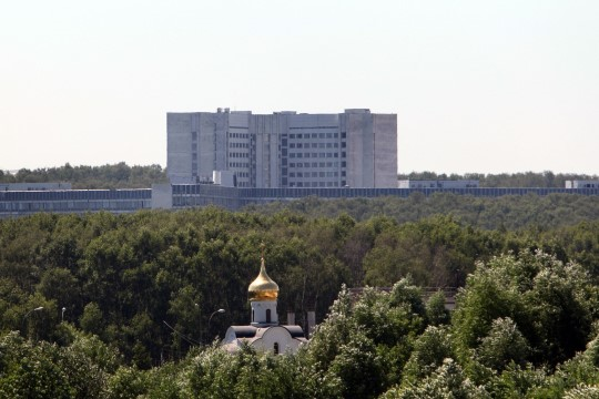 Vene välisluureteenistuse hoones oli tulekahju