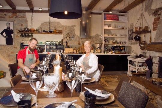 Evelin Ilves ja restoran ROOG kolisid Tallinna vanalinna