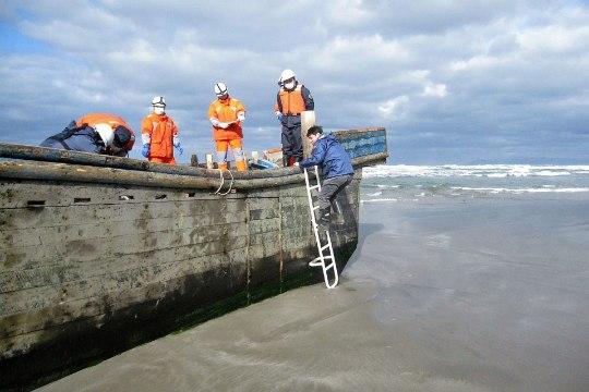 Miks uhtuvad Jaapani randadele kummituslaevad