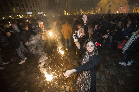 Ilutulestiku ja vahuveinipudeliga vana-aastaõhtul Vabaduse väljakule ei pääse
