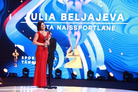 Aasta naissportlane 2017 - Julia Beljajeva